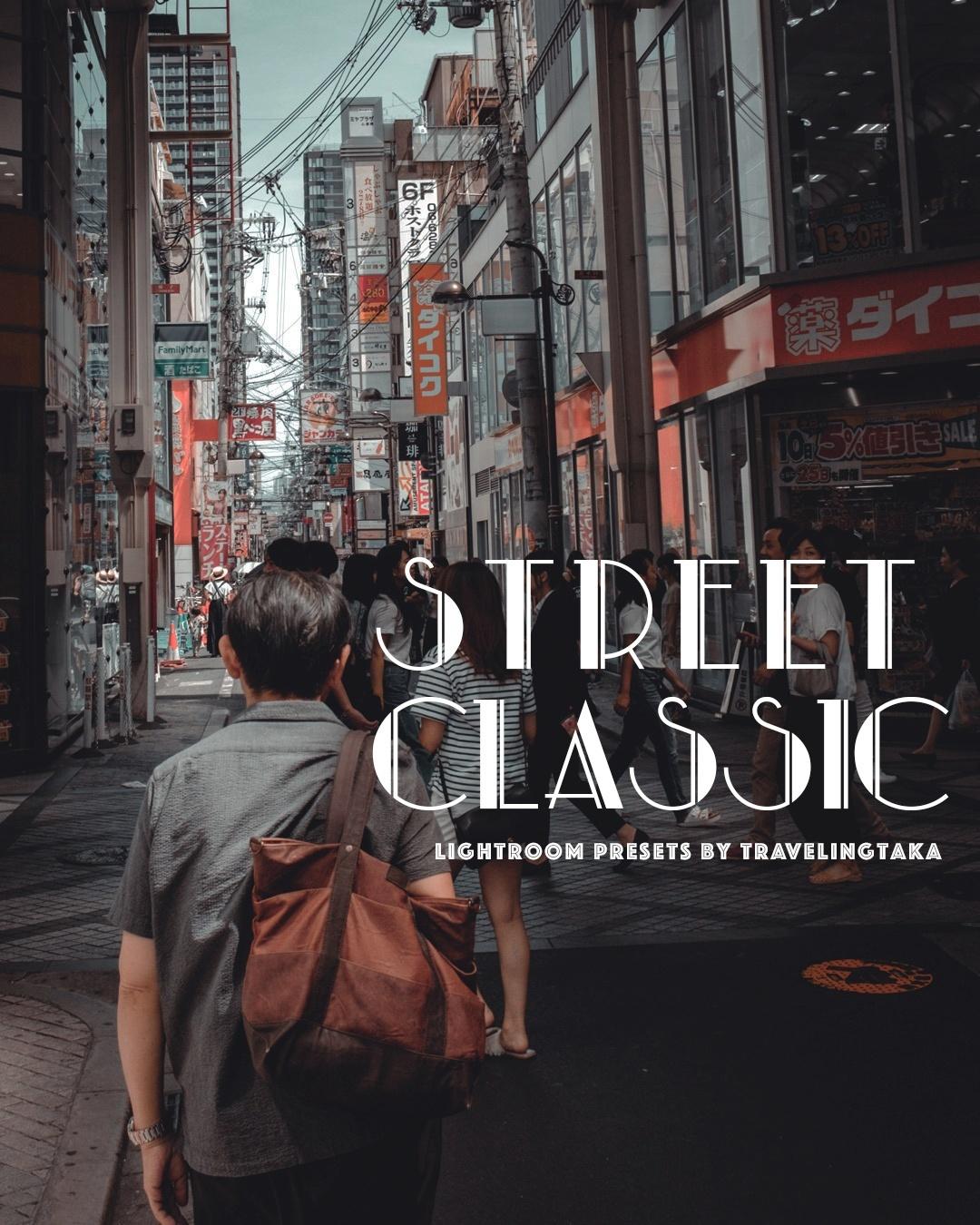 STREET CLASSIC – 14x Lightroom Presets