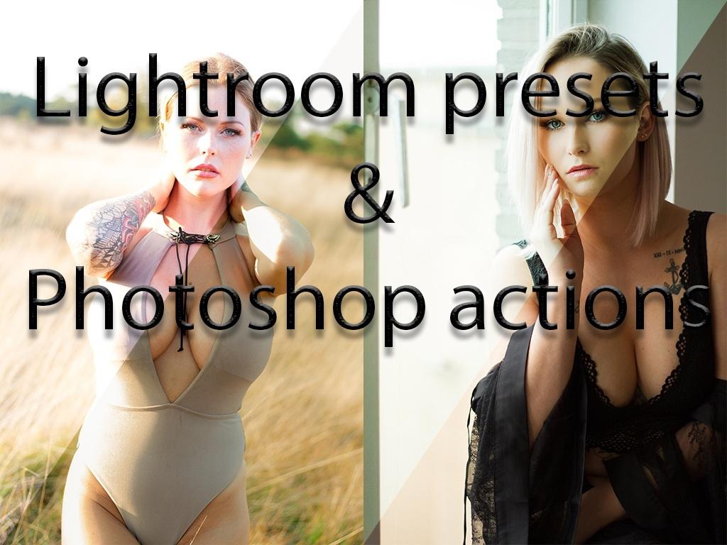 Lightroom presets & Photoshop actions