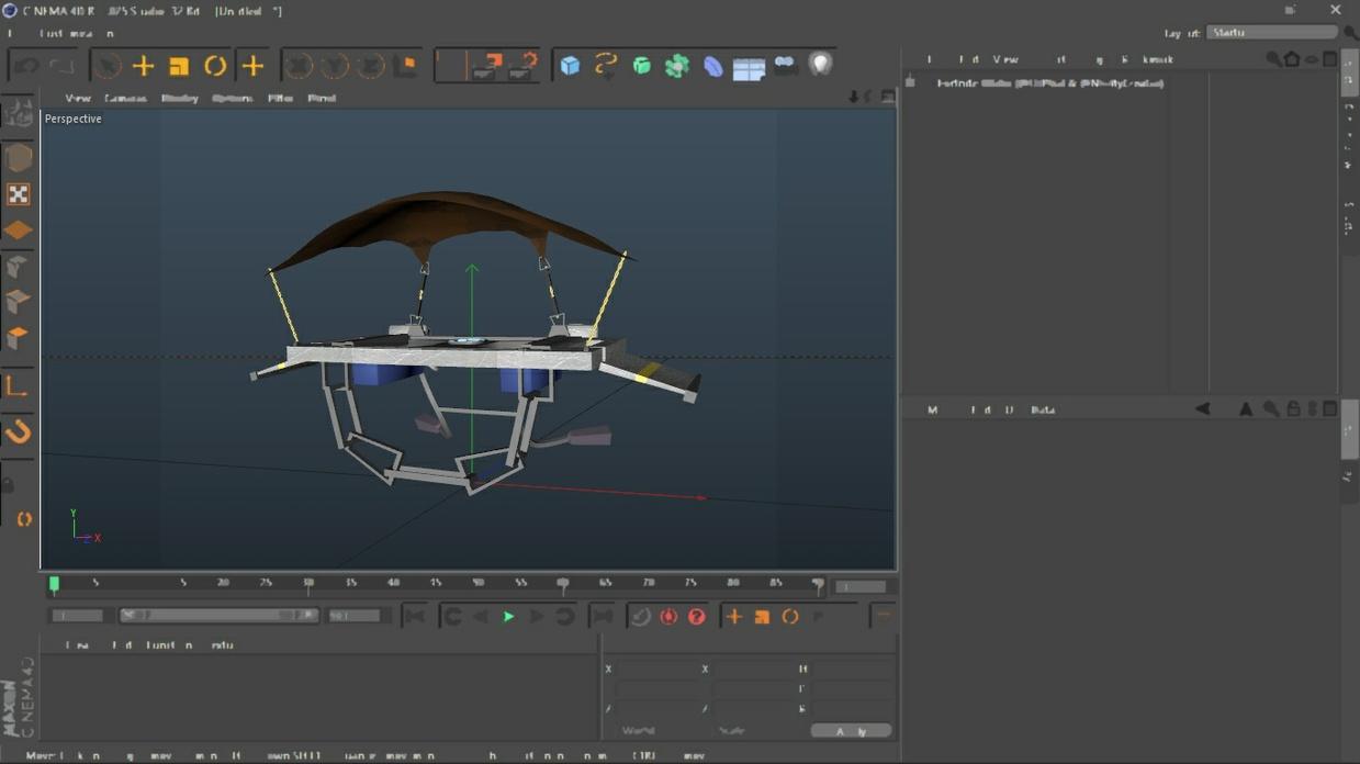 Fortnite Glider Rig » Rig Model