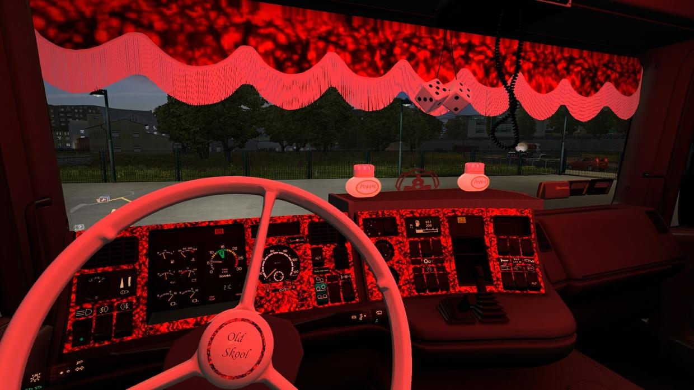 Scania 4 series Danish Interior
