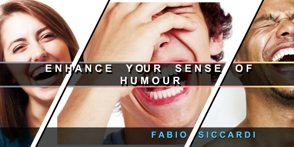 CRAZY★WICKED SENSE OF HUMOUR!★  Ehance your sense of humour (With Ultrasonic Option)
