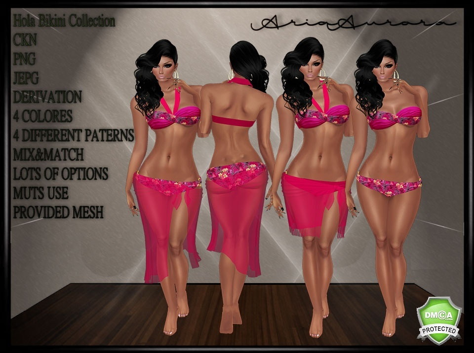 Hola Bikini Collection,Resell Right to 5 People!!