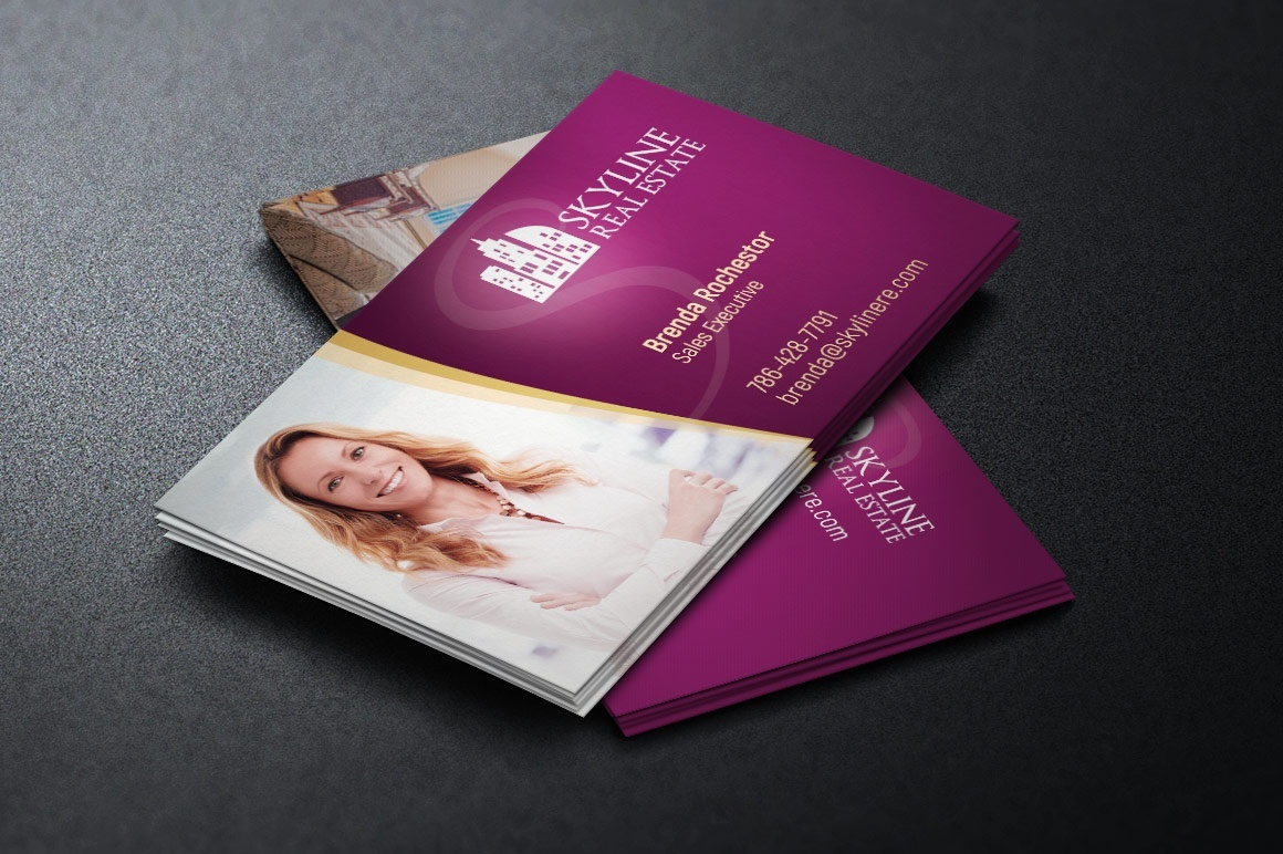 Real Estate Business Card Template Godserv Designs Sellfycom - Real estate business card template