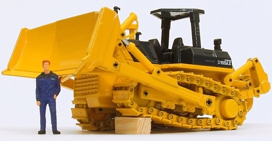 Komatsu Crawler Dozers D155AX-5 sn:75001-76242 Operating and Maintenance Instructions