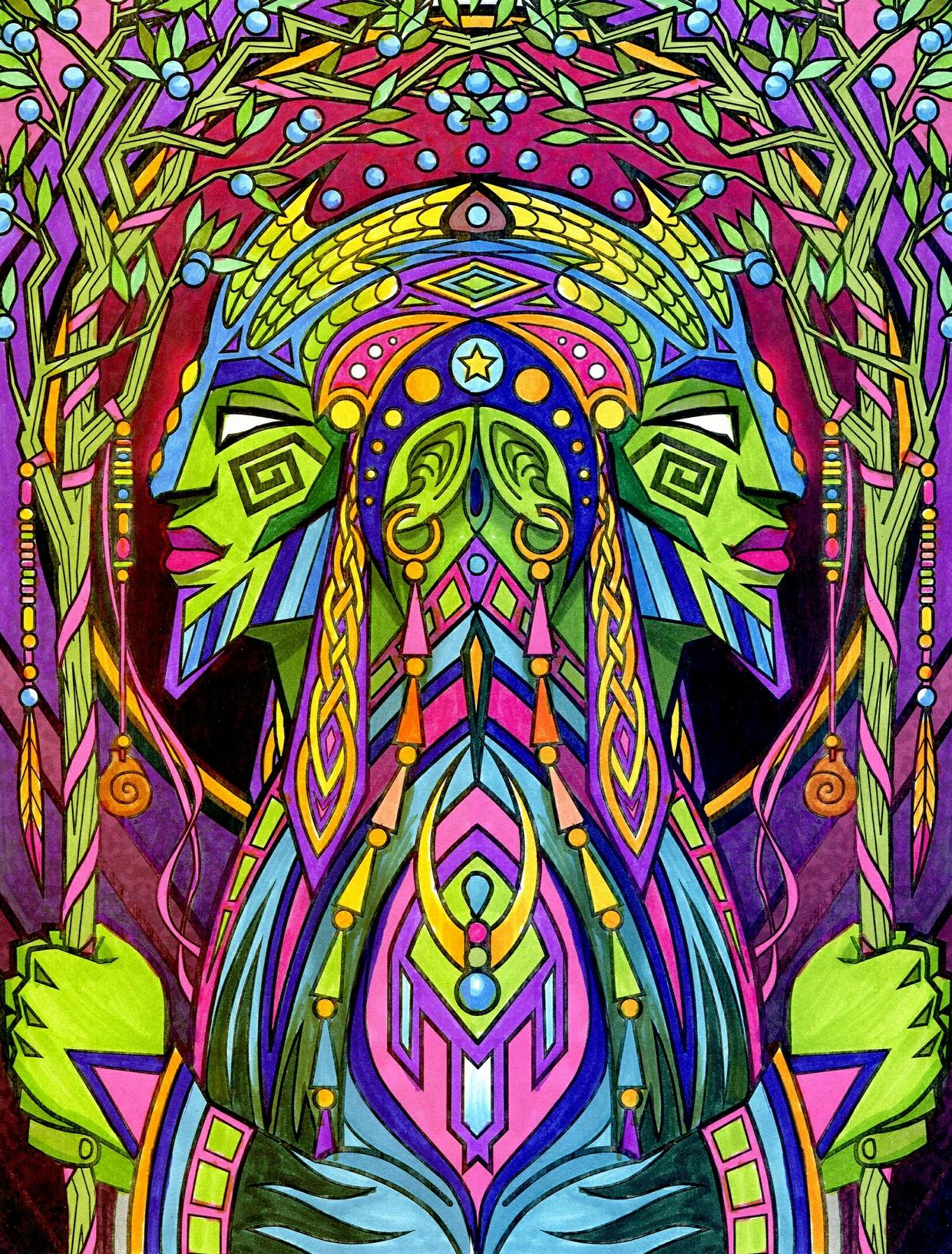 Espiritus Book 1 Coloring Book Download