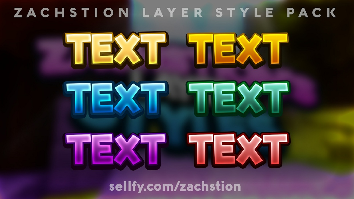 Zachstion's Layer Styles V1