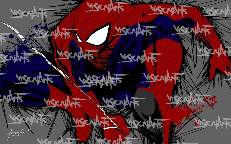 Web Slinger Art Poster