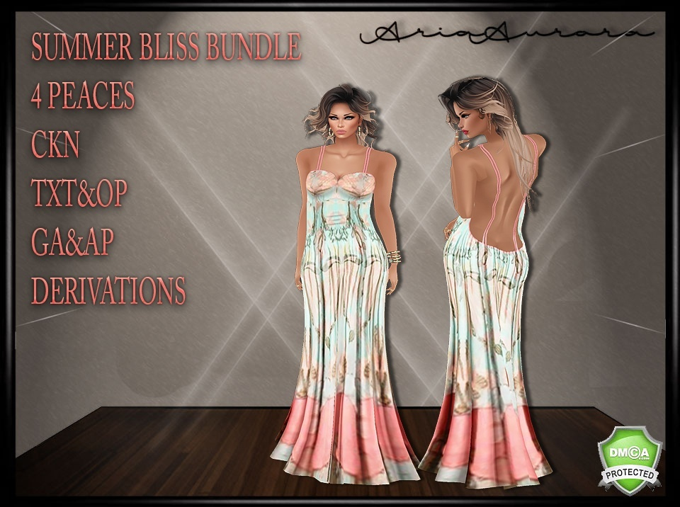 Summer Bliss Bundle,Resell Right!!