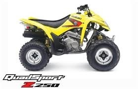 2004 2005 2006 2007 2008 2009 Suzuki QuadSport LT-Z250 Service Repair Manual
