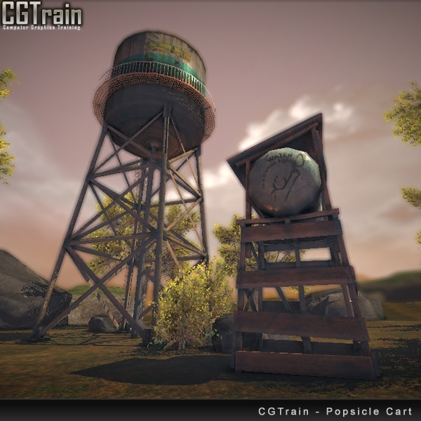 Water Tank Prop Pack