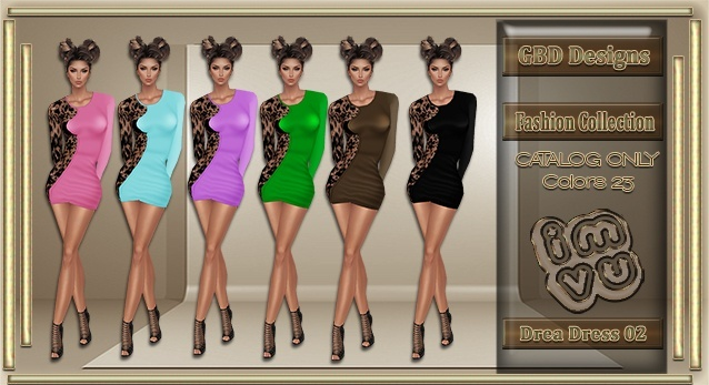 Drea Dress 02 CATALOG ONLY!!