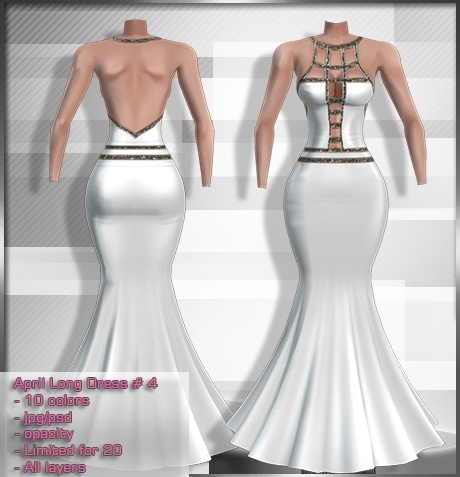 2014 Apr Long Dress # 4