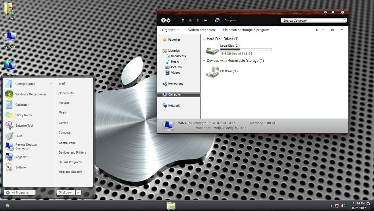 yys ThemePack for Win 7/10RS3
