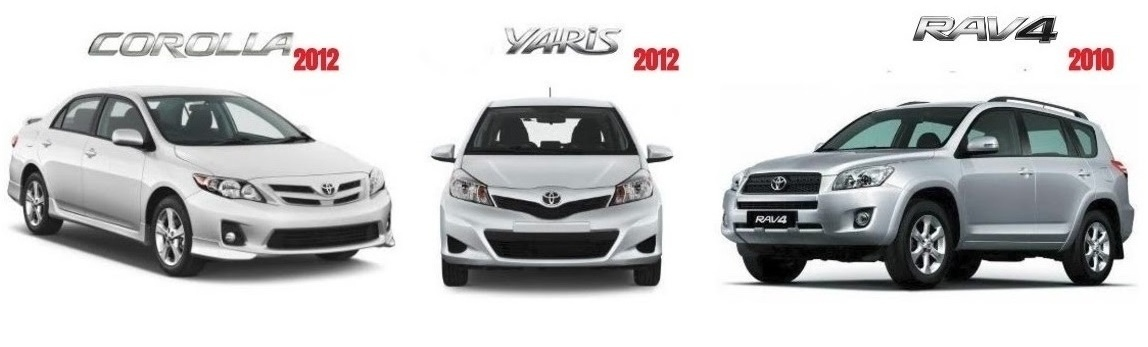 Toyota Corolla/Yaris/Rav-4 GSIC Factory Service Manuals