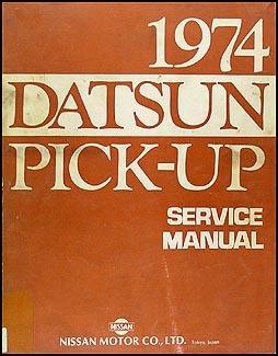 1974 Datsun 620 Pick-Up Service Repair Manual