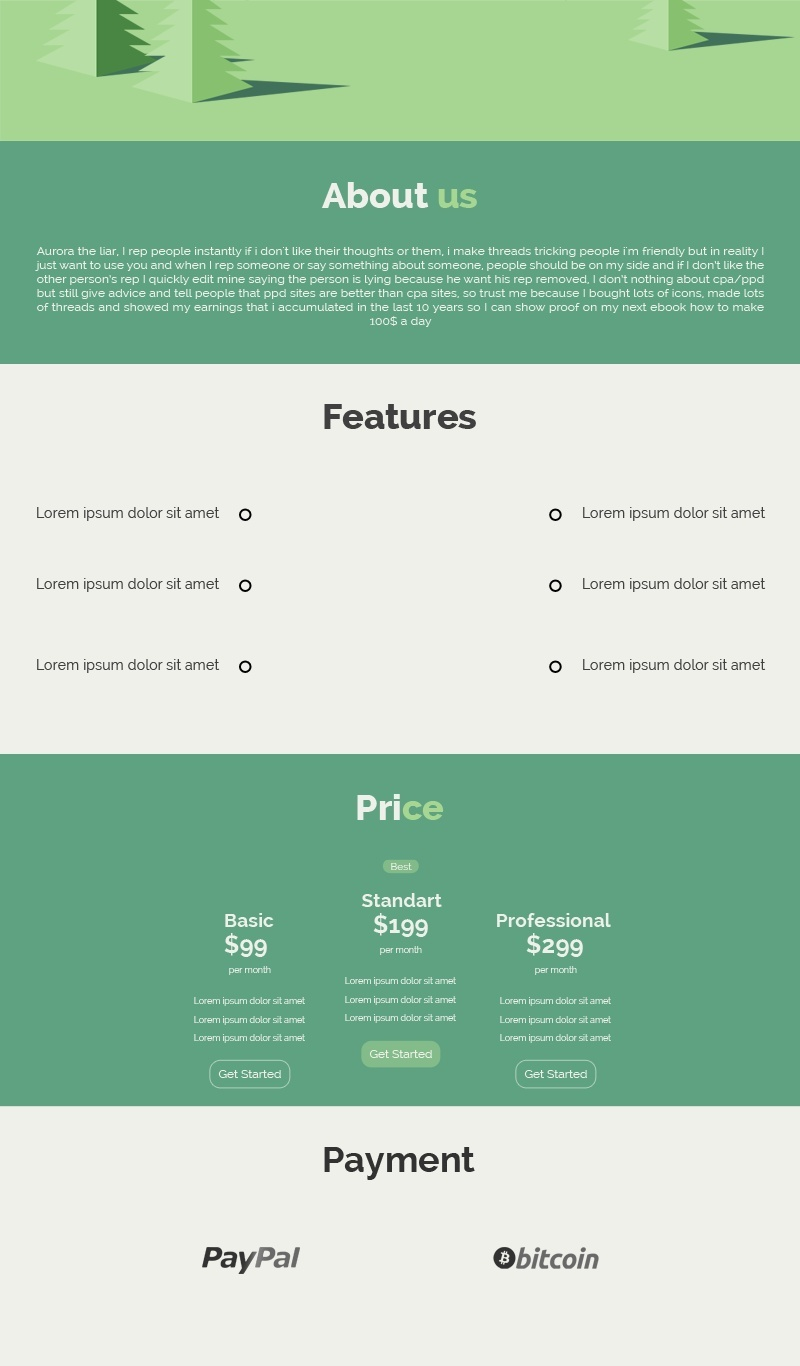 Forest Thread Design Template | Cheap, Stylish, and Professional!