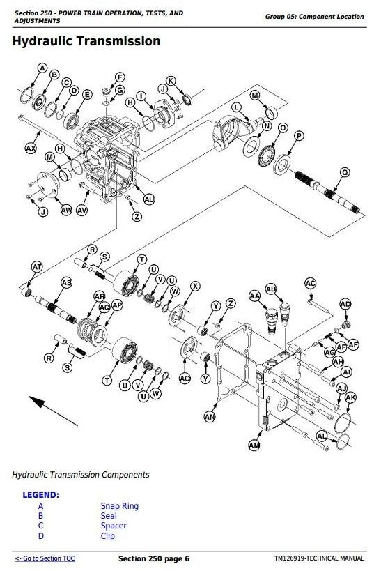 John Deere 1023E, 1025R and 1026R  Compact Utility Tractors Technical Manual (TM126919)