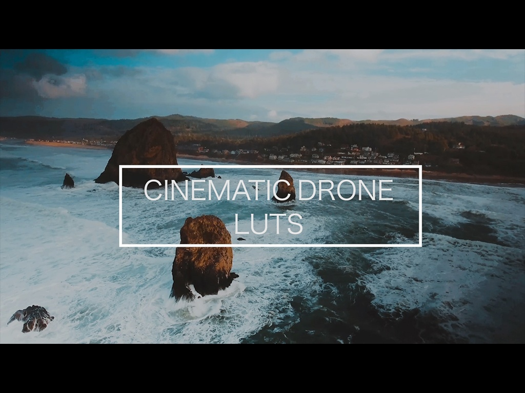 CINEMATIC DRONE LUTS PACK