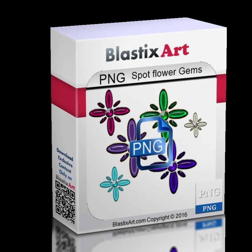 Png  Spot  flowers Gems