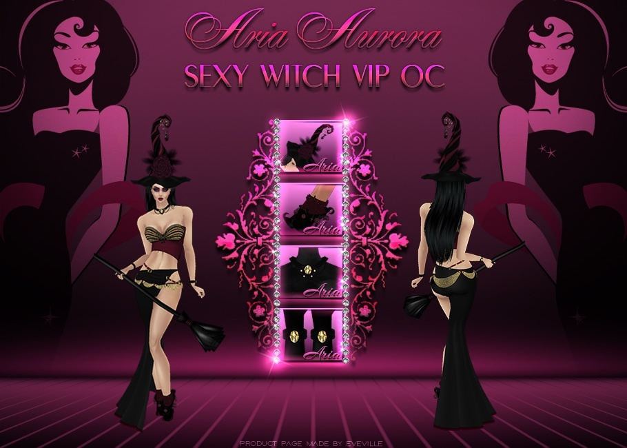 Sexy Witch,VIP 2017 October/NO Resell!!