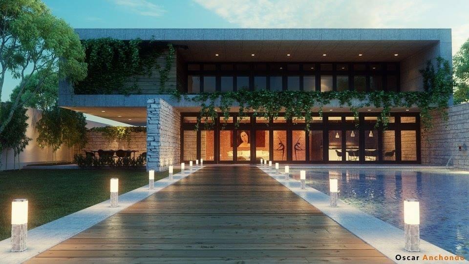 Backyard House (Lightwave 2015)