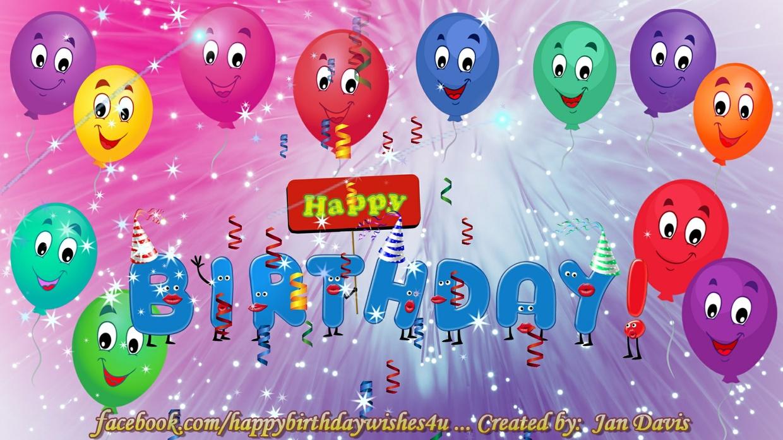 We Wish You A Happy Birthday