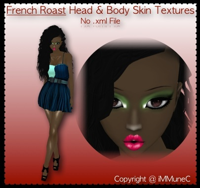 1 French Roast Comfort Skin Texture
