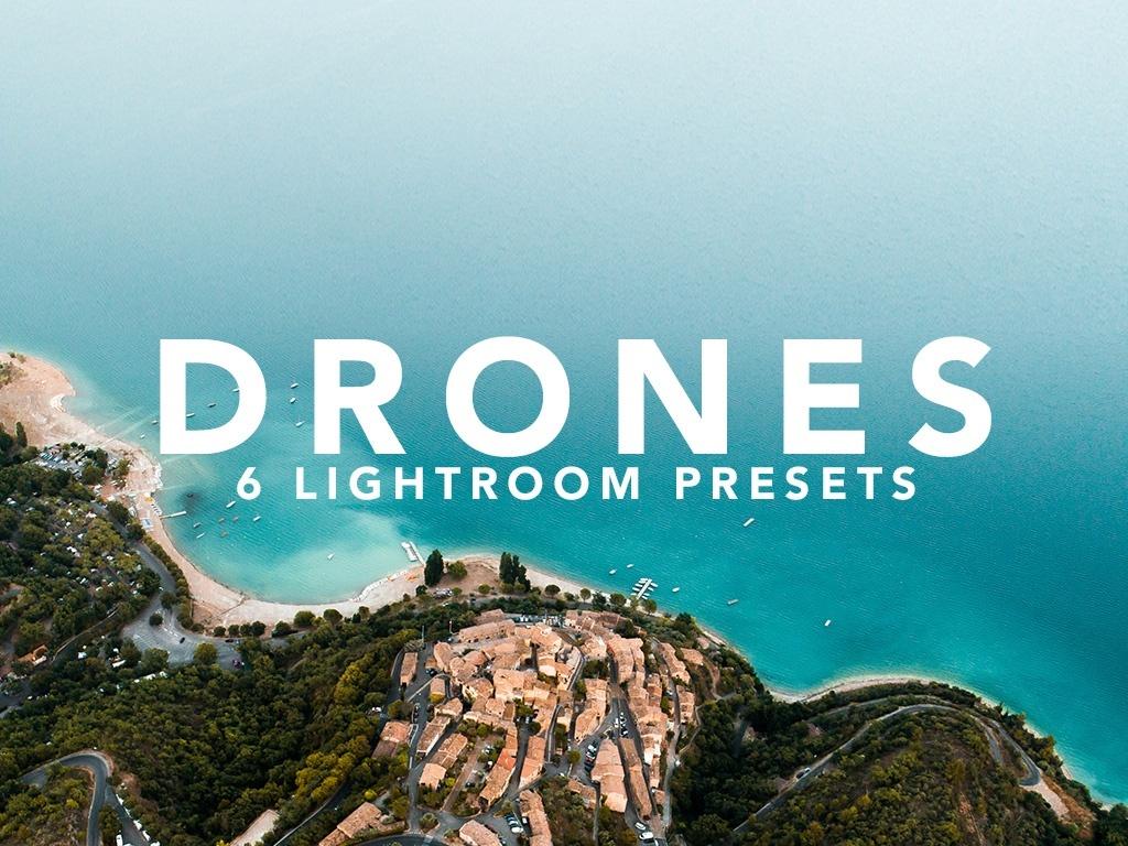 DRONES | 6 Lightroom Presets