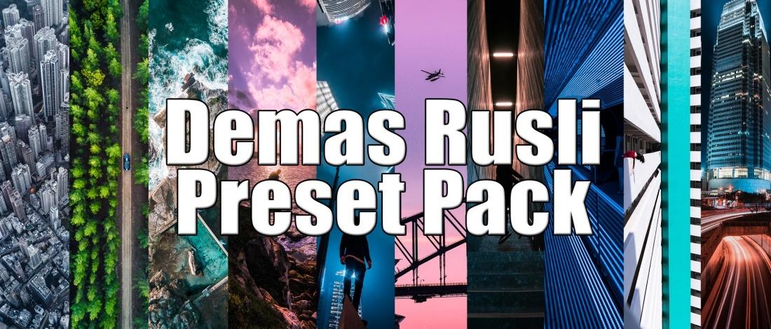 Creator Presets x Demas Rusli Lightroom Presets