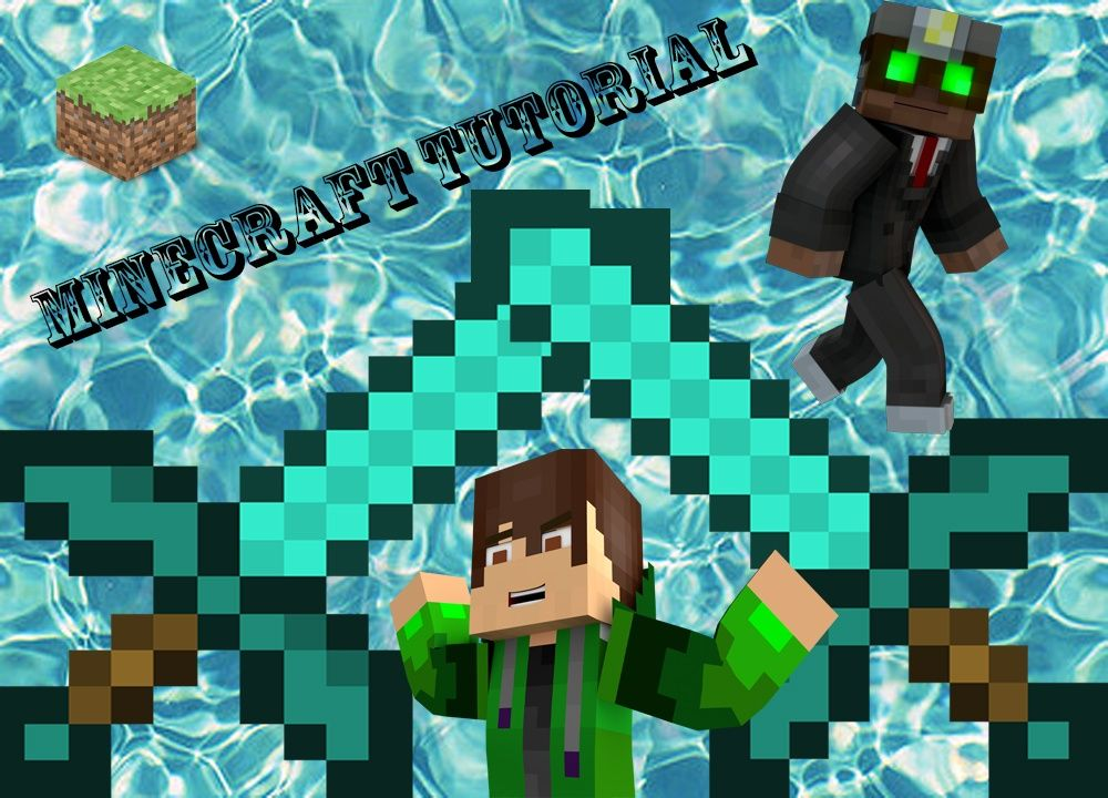 Minecraft Tutorial Thumbnail