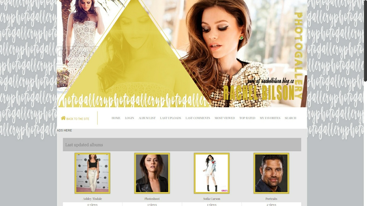 Coppermine Photo Gallery Free Theme #2