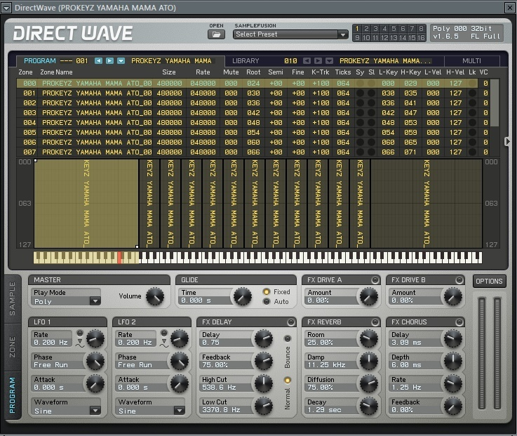 PROKEYZ For Directwave