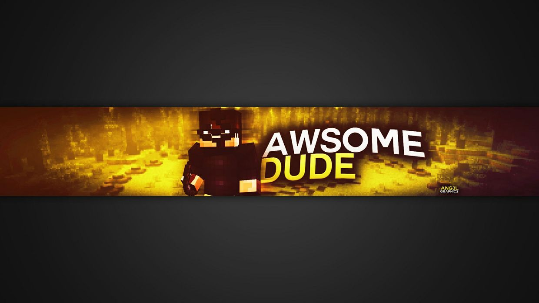 2D Minecraft Banner