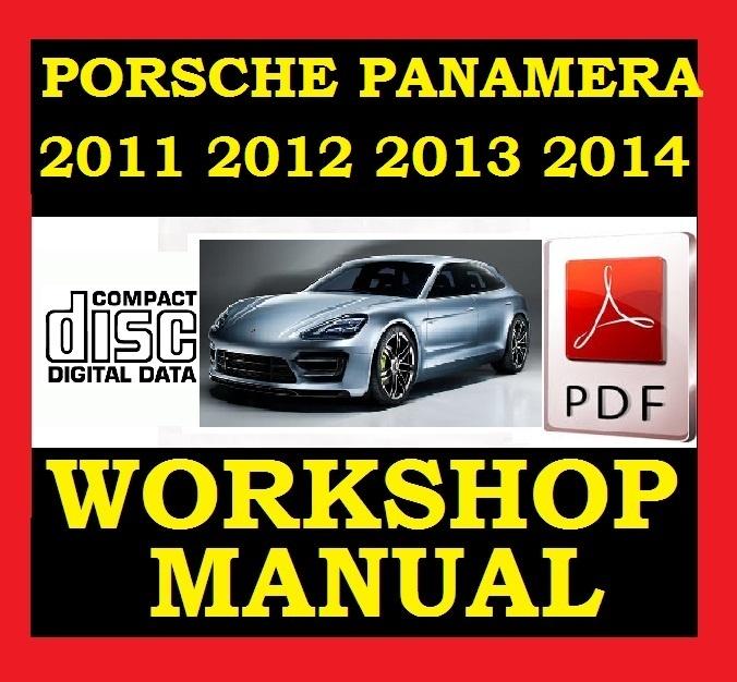 2011 2012 2013 2014 Porsche Panamera V6 V8 Works