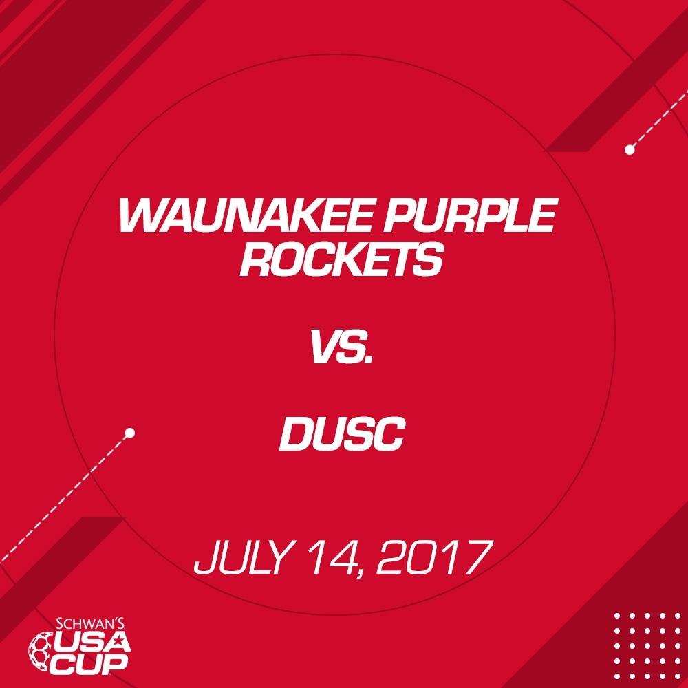 Girls U16 - July 14, 2017 - Waunakee Purple Rockets vs DUSC