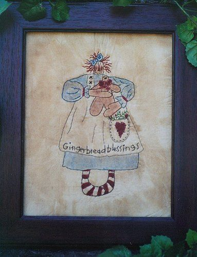 #348 Annies Gingerbread e pattern