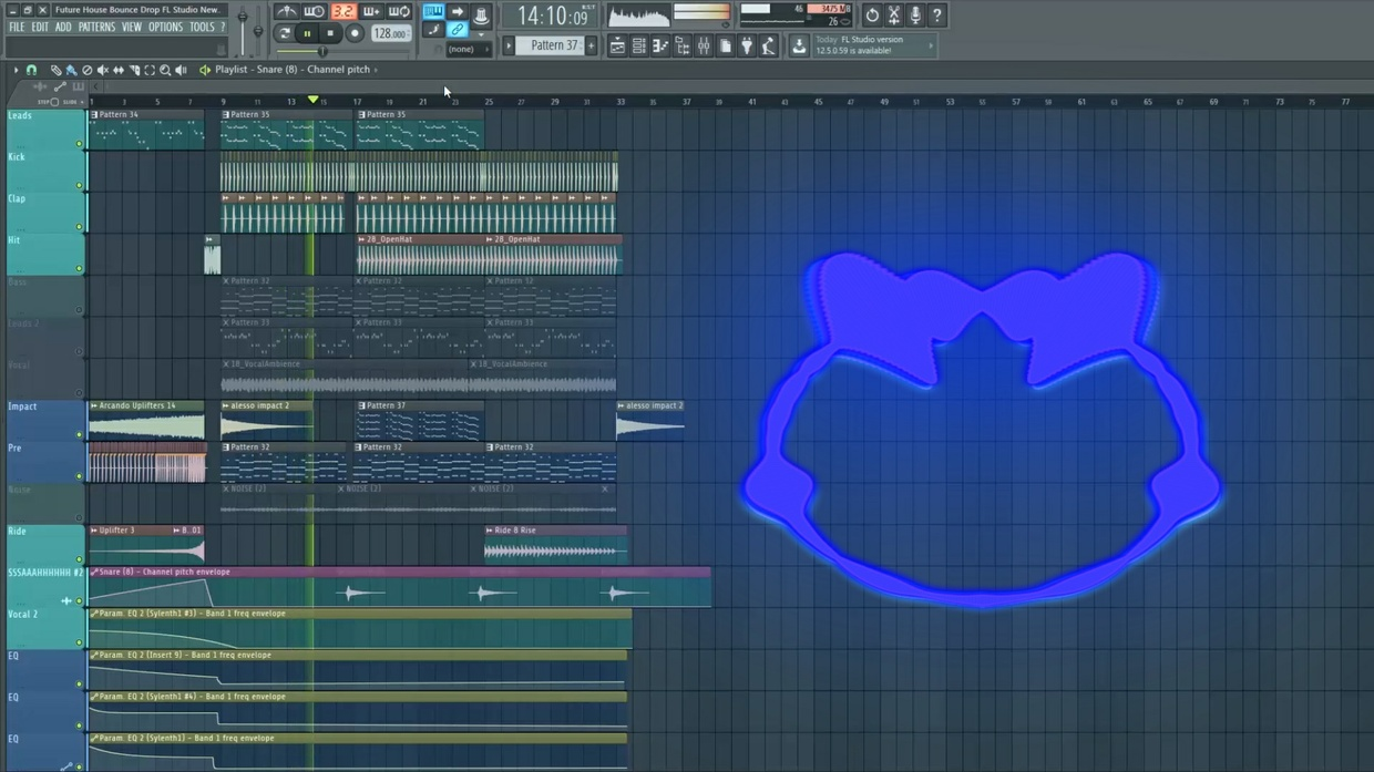 Future House/Bounce Drop FL STUDIO (FLP) (NEW SERIE) #14