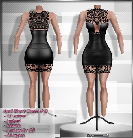 2014 Apr Short Dress # 9