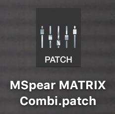 MSpear MATRIX Combi (For OPUS Performance Rack)