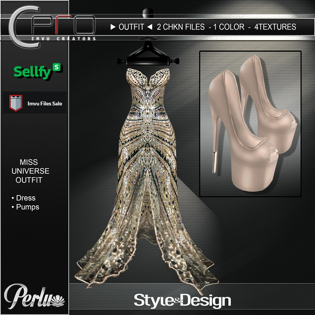►MISS UNIVERSE OUTFIT◄