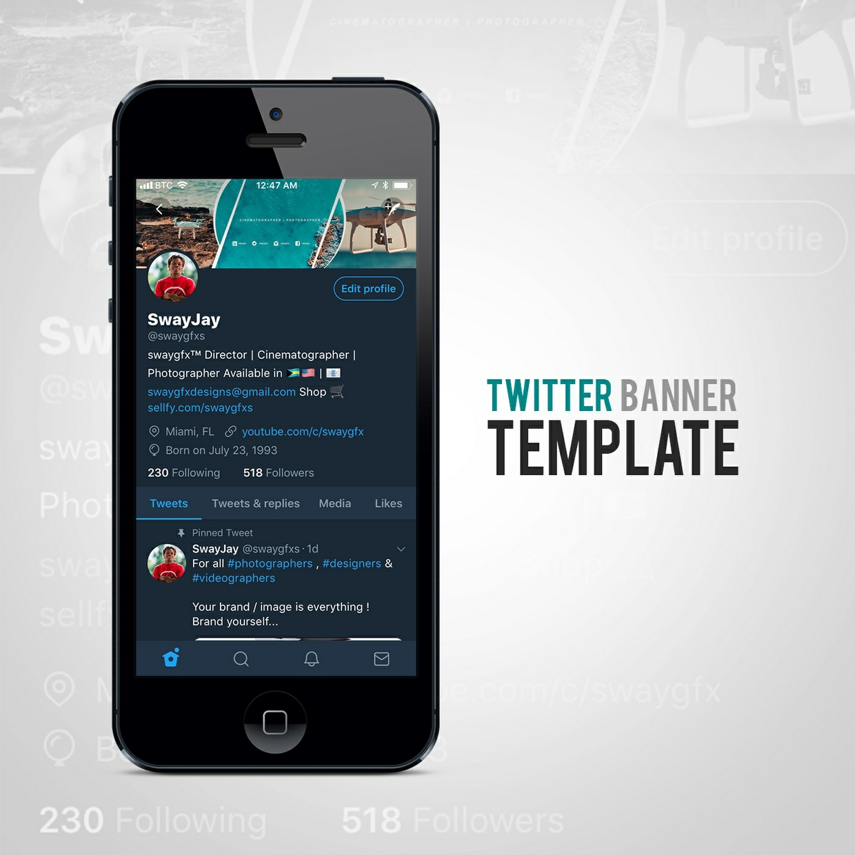 swaygfx™ - Content Creator ( Social Media Branding Kit Bundle )