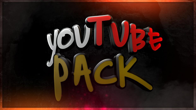YOUTUBE PACK - BANNER + PROFILBILD, 3 Thumbnails (CLOSED)