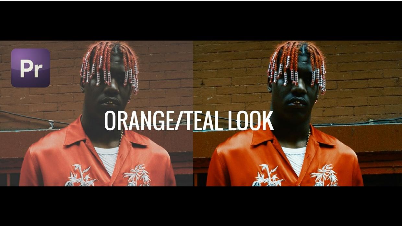 ORANGE/TEAL LOOK