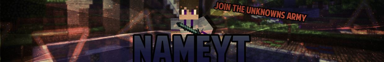 Youtube Minecraft Banner