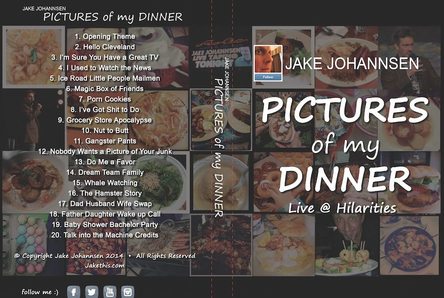 Pictures of My Dinner: Jake Johannsen
