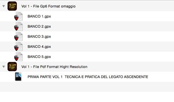 """(PRIMA PARTE) VOL 1  TECNICA E PRATICA DEL LEGATO """"SOLO"""" ASCENDENTE - FORMAT PDF. """"OMAGGIO FILE GP6"""""""