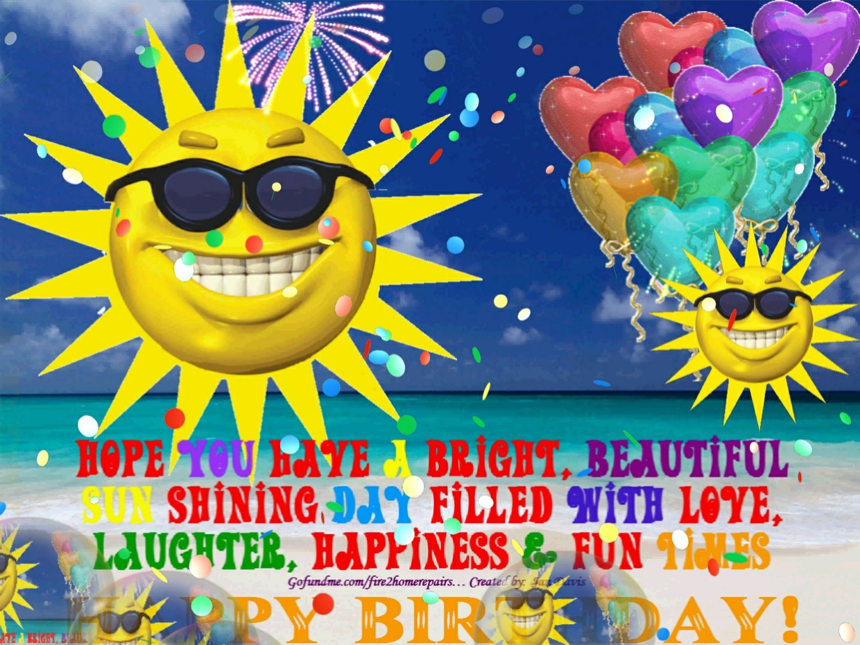 Sunny Day Happy Birthday Wishes