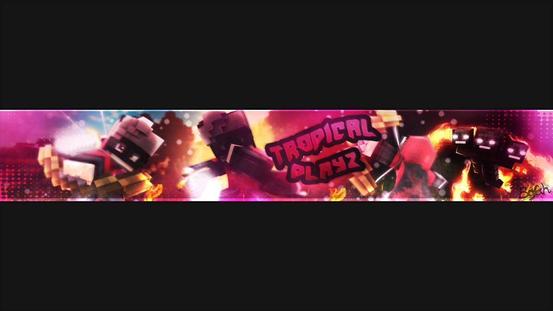 - [Minecraft] YouTube Banner -