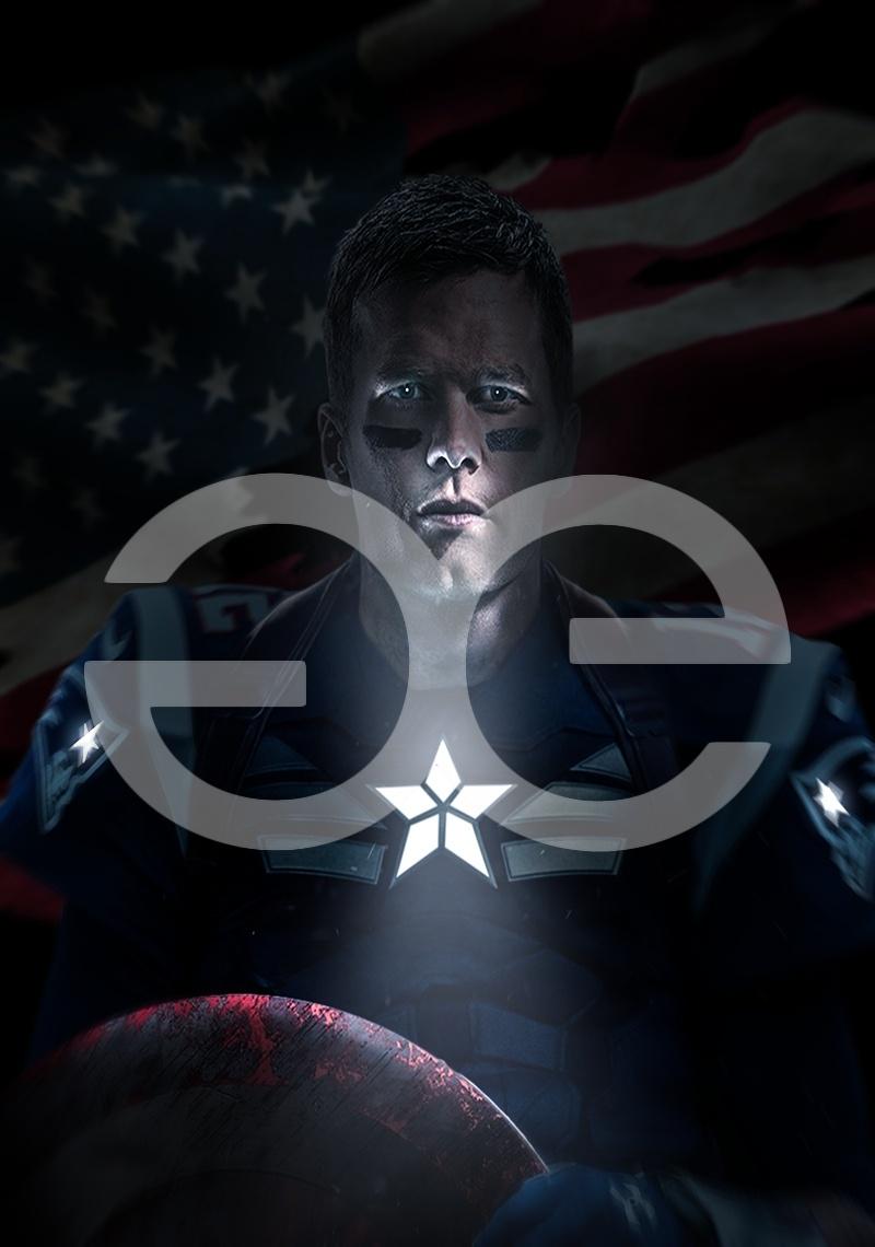 Brady Captain America