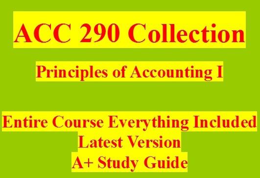 xacc 290 week 4 p4 2a